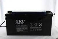 Аккумуляторная батарея BATTERY GEL 12V 150A UKC, свинцово-кислотная батарея