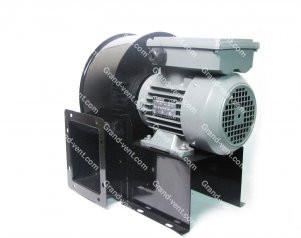 Трехфазный центробежный вентилятор Bahcivan OBR 260 T-2K крыльчатка двигатель корпус