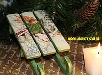 Сани Рождественские зайцы