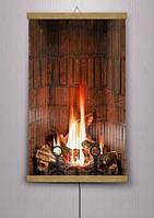Карбоновый обогреватель-картина TRIO Огонь в камине