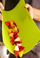 Доска разделочная пластик Флеск 380*300мм, кухонная посуда