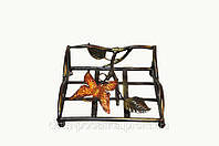 Декор для дома кованые изделия салфетник -бабочка 20*20*8 см