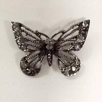 Брошь бабочка .