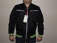 Весенняя куртка мужская черная