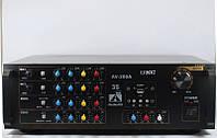 Звуковой усилитель AMP 200A, усилитель мощности микшер караоке на 2 микрофона