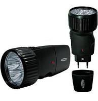 Фонарь аккумуляторный светодиодный Kosmos 528, ручной мощный фонарик