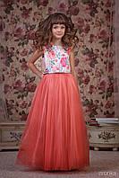 """Нарядное детское платье """"Flowers"""" Zironka"""