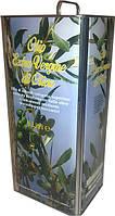 Итальянское оливковое масло первого отжима Olio Extra Vergine di Oliva ж/б 5 л., фото 1