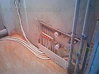 Монтаж водопроводной и канализационной гребенки
