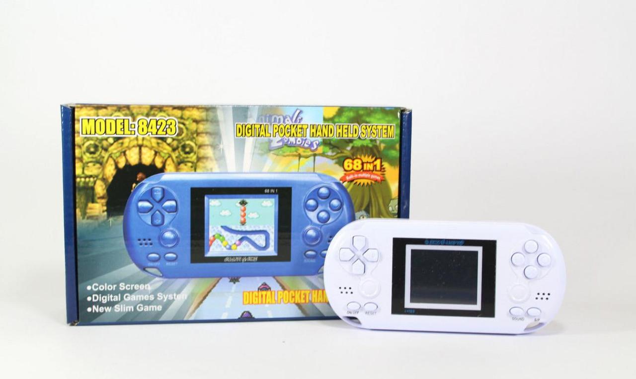 Электронная игра GAME 8423, приставка карманная, портативная игровая консоль - Интернет магазин 24Argo в Днепре