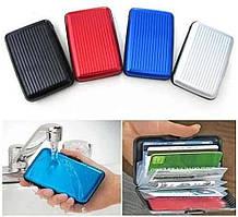 ВизитницаAluma Wallet, оригинальный алюминиевый кошелек aluma wallet