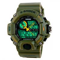 Кварцевые мужские часы Skmei Military