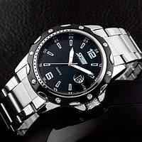 Кварцевые мужские часы Skmei Robby Steel