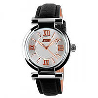 Кварцевые женские часы Skmei Elegant Black