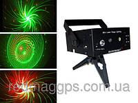 Cветомузыкальная лазерная установка LSS-051, проектор для вечеринок
