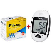 Глюкометр Finetest Premium (Файнтест Премиум)+50шт тест полосок