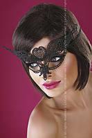 Черная эротическая маска на лицо 10 Livia Corsetti One size, черный