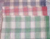 Льняное кухонное полотенце 33х57