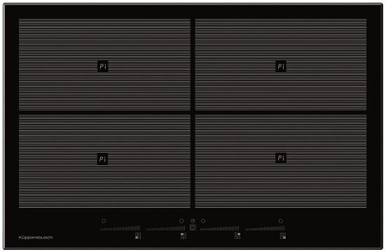 Индукционная варочная панель Kuppersbusch EKI 8940.1 BCF