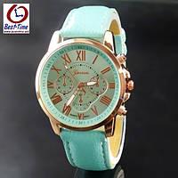 Geneva Женские часы Geneva Uno Mint, фото 1