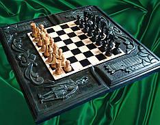 Подарункові шахи , різьба по дереву