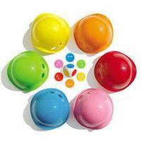 Игрушка Билибо Мини (6 разноцветных мини Билибо,1 кубик з чипами 36 шт) для детей от 4 лет ТМ Moluk Микс 43015