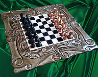 Шахматы , ручная работа , резьба по дереву