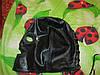 Шолом-маска шапка нова натуральна шкіра для рольових ігор п-во австрія чорна bdsm садо-мазо, фото 5