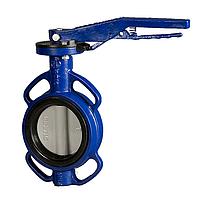 Дисковый поворотный затвор межфланцевый Honeywell,PN16, DN80