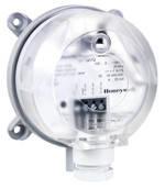 Датчик перепада давления для вентиляционных систем 0-1000Па (0-2500Па) Без ЖК дисплея Honeywell