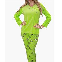 Пижама велюр+трикотаж  Арт.004-1  Разм.48