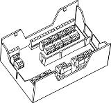 Клеммная коробка для монтажа на панели Honeywell