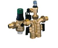 Предохранительный блок защиты водонагревателя с клапаном понижения давления PN 8 бар Honeywell