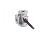 4-х ходовой поворотный клапан, DN50, Kvs40 Honeywell