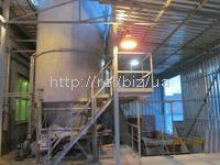 Механизированные топливохранилища биомассы