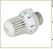 Термоголовка для клапанов с подключением типа Danfoss-RA, с нулевой отметкой, 1-28 °С Honeywell