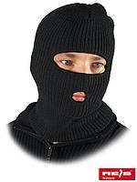 Шапка-маска с двумя отверстиями для губ и глаз CZKOM [B]