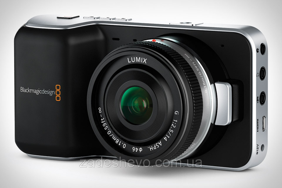 Кинокамера Blackmagic Pocket Cinema Camera MTF (CINECAMPOCHDMFT)