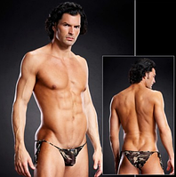 Мужские side-tie бикини хаки L/XL