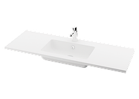 Раковина из литого камня PAA OPUS SILK 120x45K/C/L