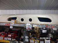 Бампер передний белый JAC 1020