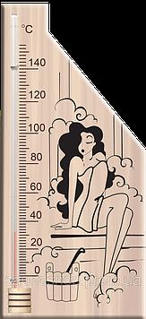 Термометр для сауни і лазні спиртовий 5 Віктер