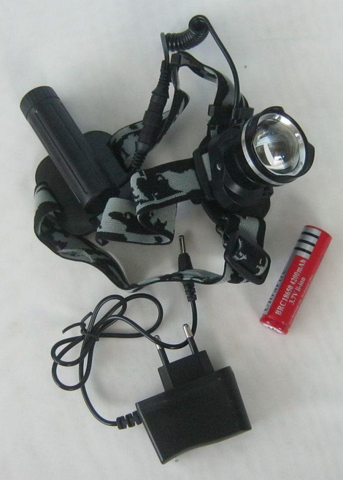 Сверхмощный налобный фонарь Police 658 XML-T6