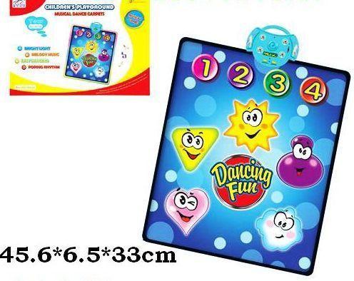 Танцевальный коврик D 001 Y + батарейки