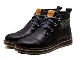 Мужские ботинки с мехом Clarks Urban Trip Black Winter