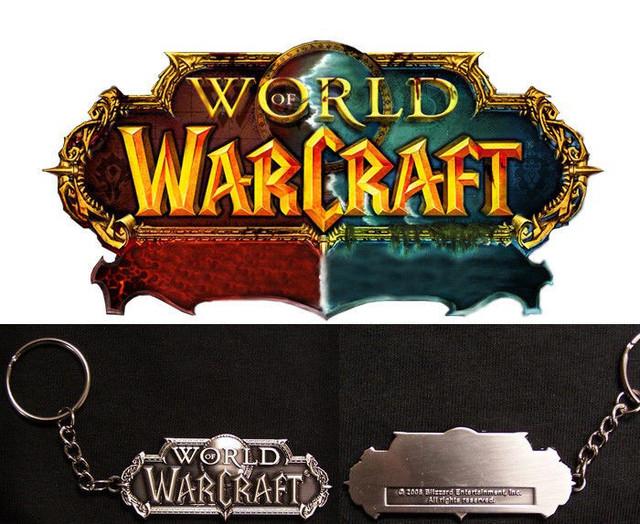 Брелок Варкрафт WOW World of Warcraft
