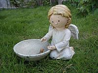 Садовая фигура-кормушка Engard Ангелочек