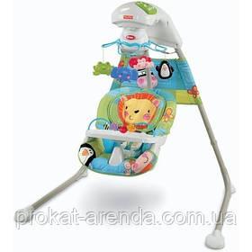 Укачивающий центр, качели, колыбели Fisher-Price Discover 'n Grow Cradle 'n Swing