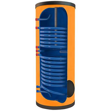 Бак накопительный косвенного нагрева двухконтурный на 300 литров АТМОСФЕРА TRM-302, фото 2