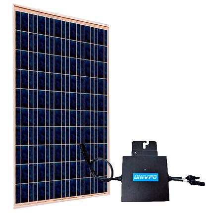Модульная сетевая солнечная электростанция 240Вт, фото 2